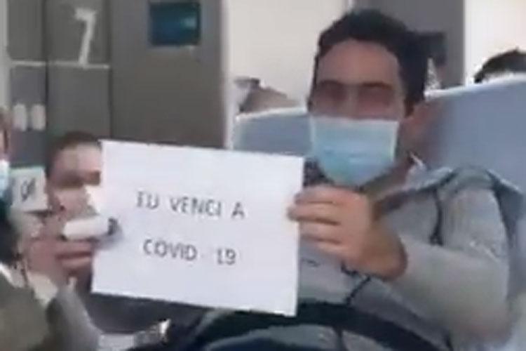 Vídeo mostra saída do empresário brumadense Márcio Moreira do Hospital Sírio Libanês em São Paulo