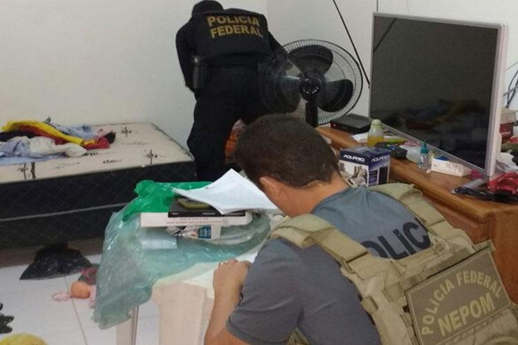 Pedofilia: Operação da Polícia Federal cumpre três mandados de busca e apreensão na Bahia