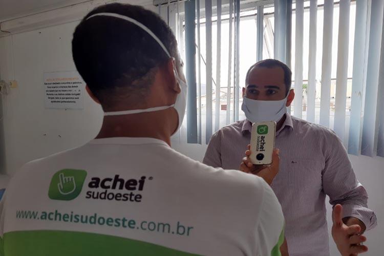 Comportamento comunitário tem colaborado no controle da Covid-19 em Brumado, diz secretário