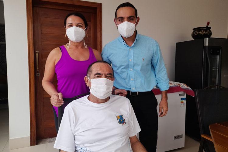 Brumado: De volta para casa, casal Abreu comemora vitória sobre a Covid-19 e lamenta mortes de amigos