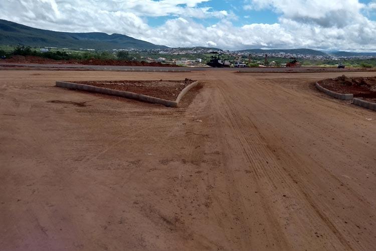 BR-030: Obras de melhorias de acesso ao anel rodoviário devem ser concluídas essa semana em Brumado