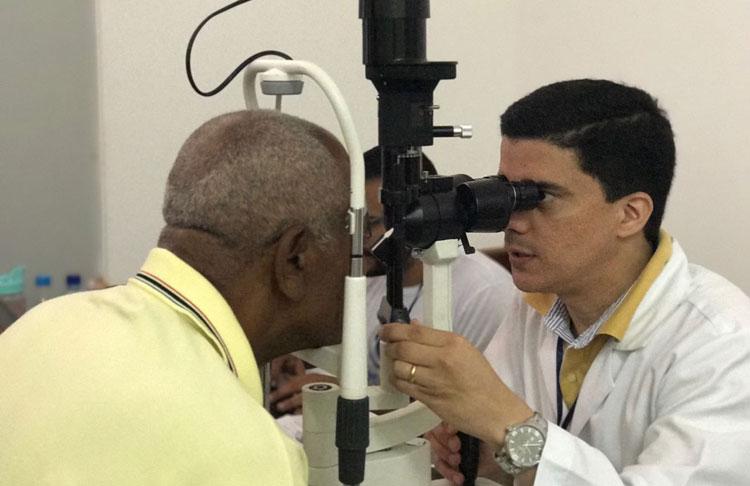 Mais de cem pessoas são atendidas em Mutirão do Glaucoma em Caetité
