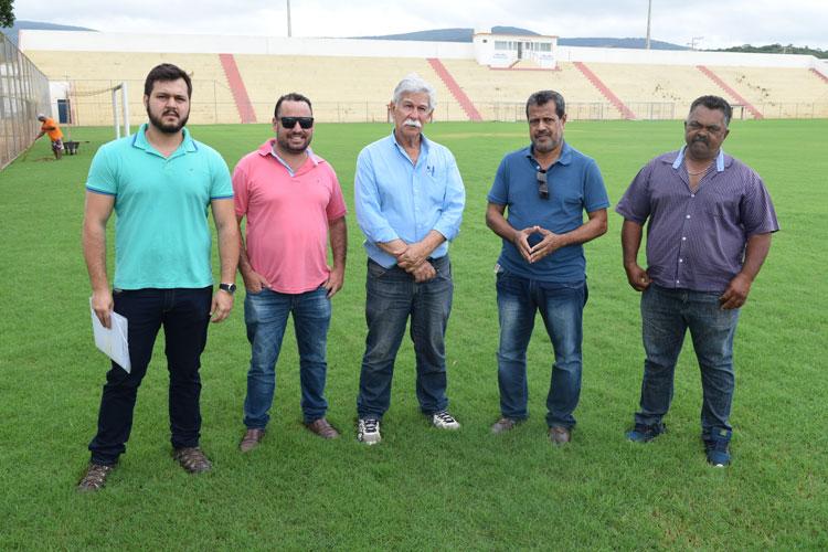 Estádio Gilberto Cardoso passará por manutenção antes do Campeonato Brumadense de Futebol 2018