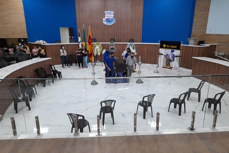 Brumado: Familiares e autoridades prestaram últimas homenagens ao presidente da Câmara de vereadores