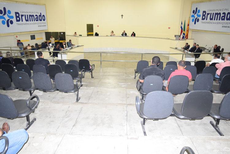Sessão da Câmara de Brumado será somente para votação do andamento ou não do impeachment do prefeito