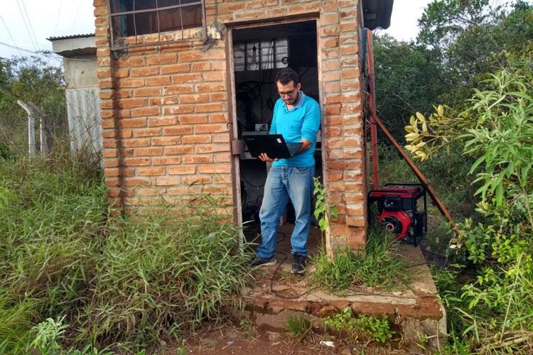 Raios atingem estação de comunicações afetando sinais de TV, telefonia e deixa rádio fora do ar em Brumado