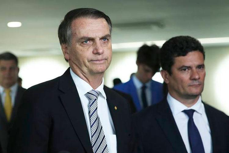 'Sérgio Moro pescava com varinha, agora vai ter rede de arrastão', diz Jair Bolsonaro