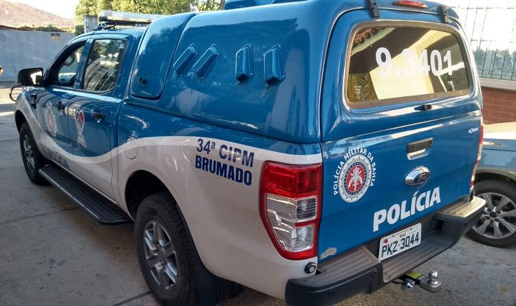 Polícia prende indivíduo acusado de violência doméstica no Bairro Novo Brumado