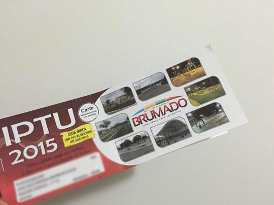 Brumado  Prefeitura prorroga prazo de pagamento do IPTU em cota única 1ce8a48d430