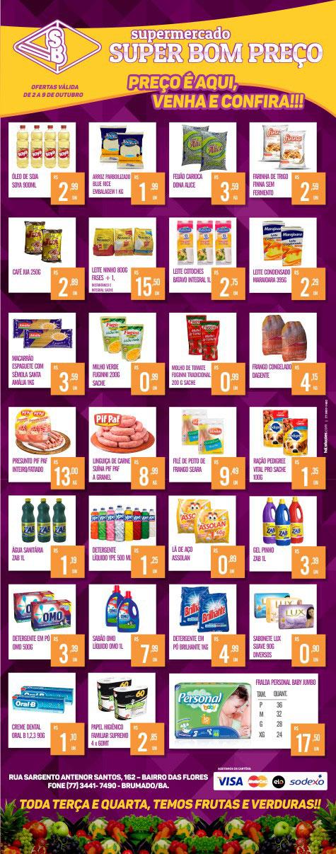 Supermercado Super Bom Preço - My Own Email 18e62b42931