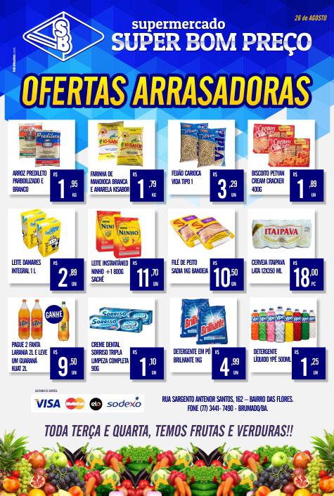 Brumado  Confira as ofertas arrasadoras do Supermercado Super Bom ... 80267c270a8