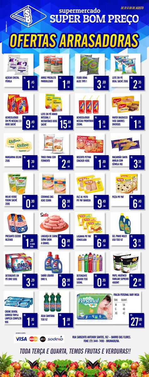 Brumado  Confira as ofertas arrasadoras do Supermercado Super Bom Preço 24018eb97a5